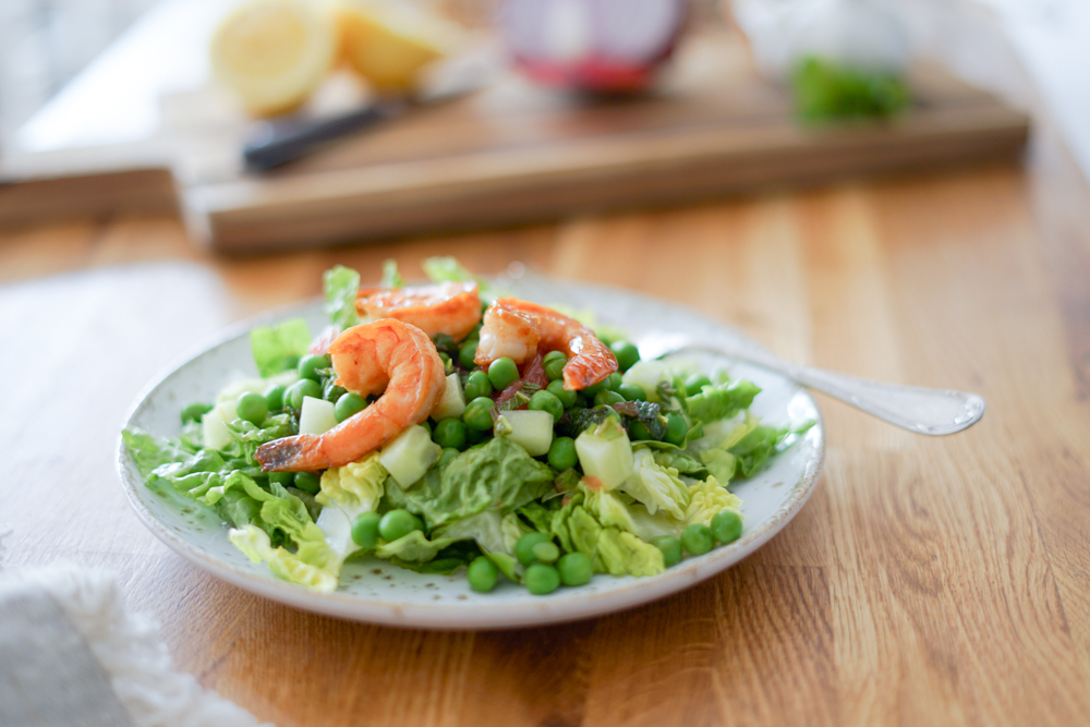 Recette Salade Petits Pois Agrumes 4