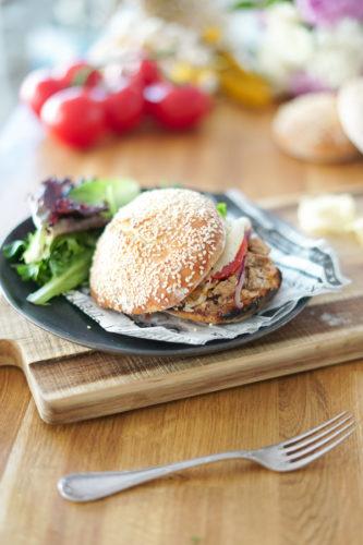 Recette Burger Lapin 10