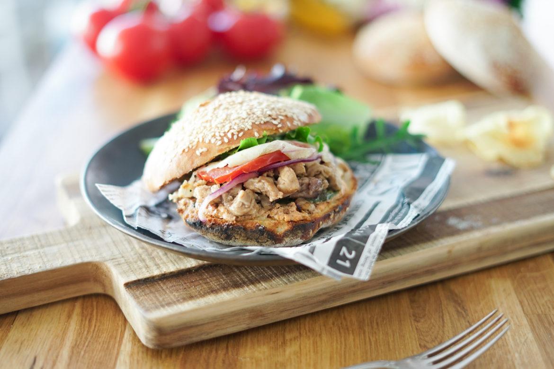 Recette Burger Lapin 7