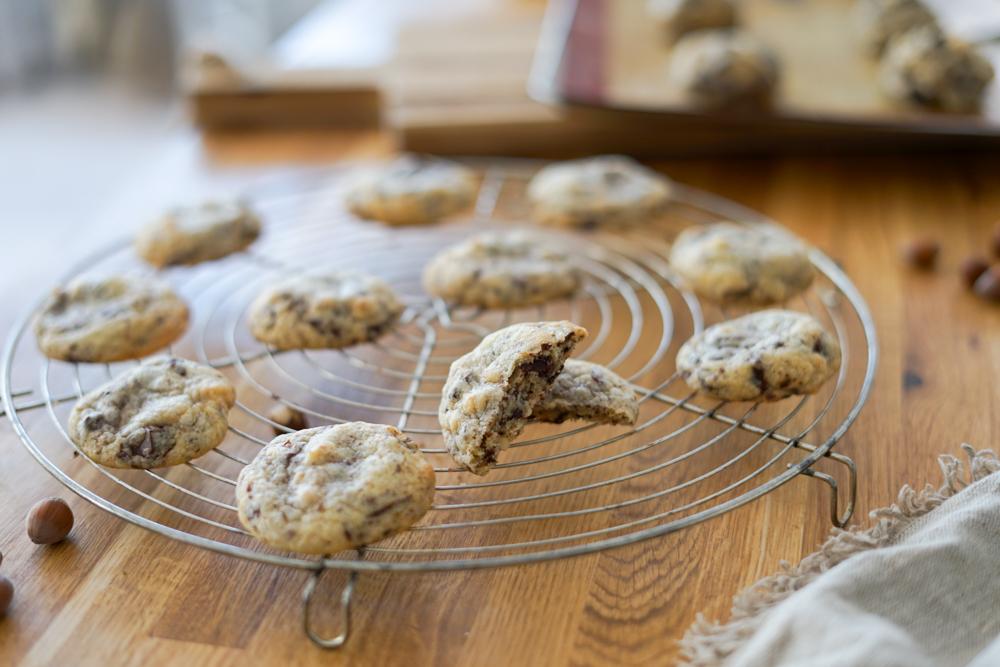 Recette Cookies Chocolat Noisette 11