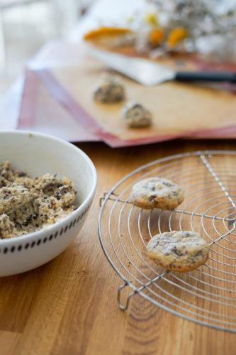 Recette Cookies Chocolat Noisette 3