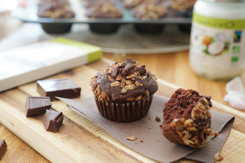 Recette Muffins Chocolat Natureo Pack 9