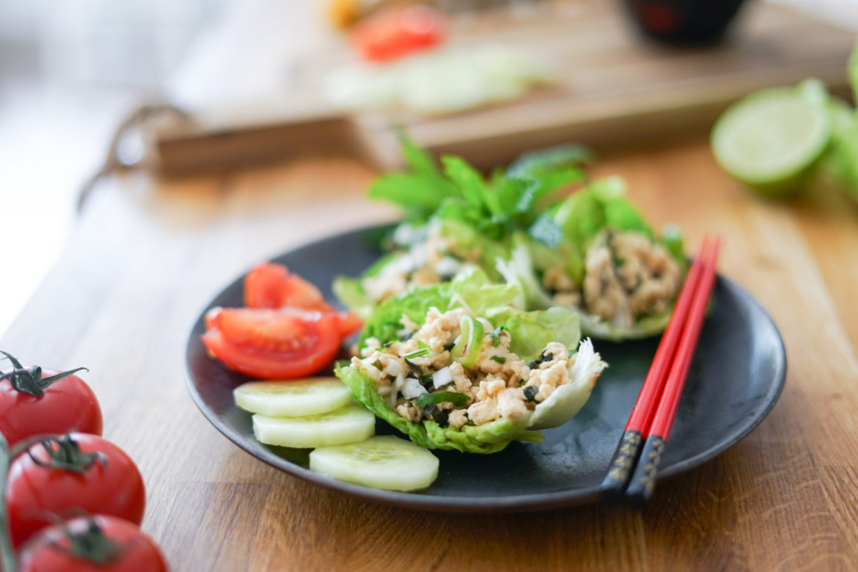 Recette Salade Poulet Thai 11