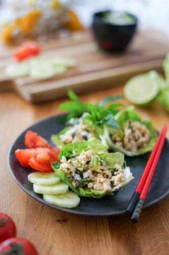 Recette Salade Poulet Thai 3