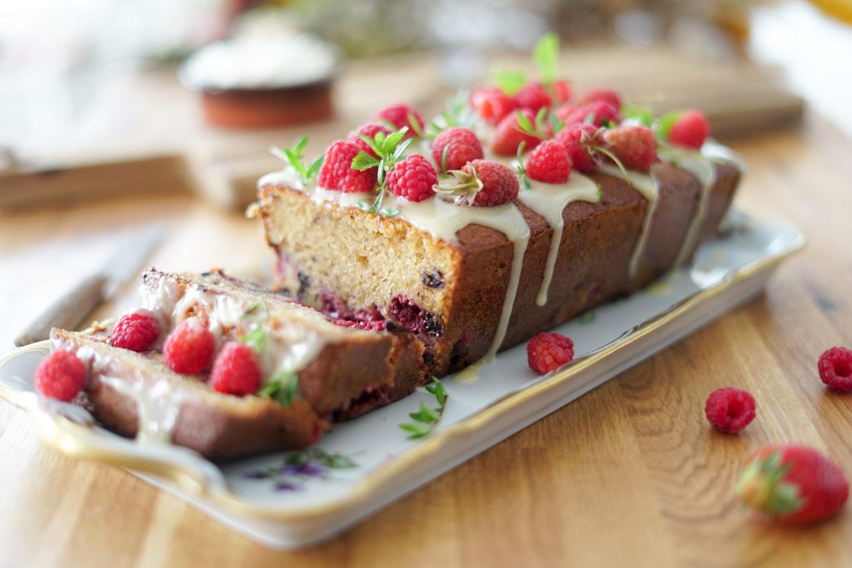 Recette Cake Framboises Creme 10