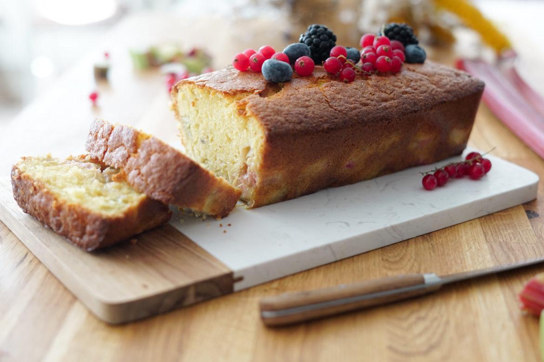 Recette Cake Rhubarbe 3