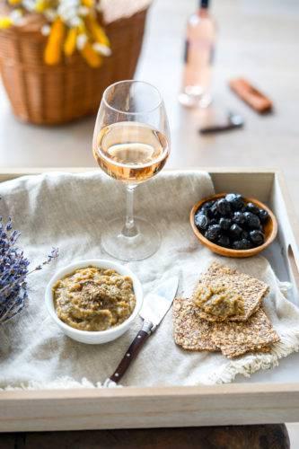 Recette Caviar Aubergine Vin Rose 2