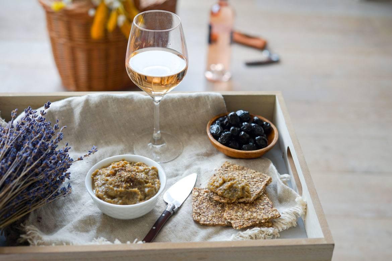 Recette Caviar Aubergine Vin Rose 4