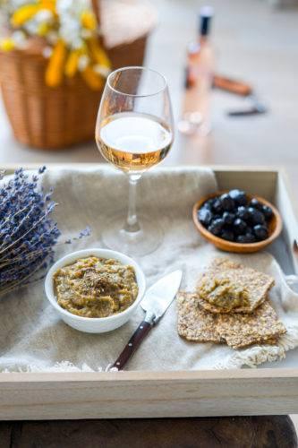 Recette Caviar Aubergine Vin Rose 6