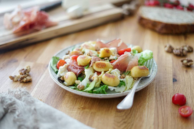 Gnocchis Extra Fromage Salade Lustucru 3