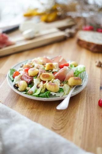 Gnocchis Extra Fromage Salade Lustucru 4