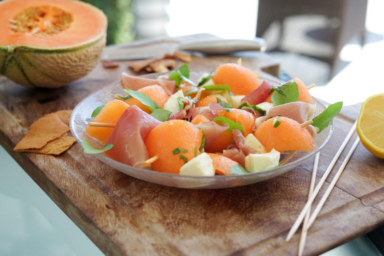 Recette Brochettes Melon Jambon Casino 35