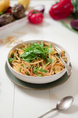 Recette Salade Pates Pesto Eat 9