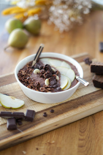 Recette Smoothie Bowl Chocolat 9