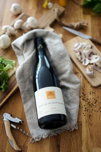Accord Carpaccio Champignons Vin Cote Nuits Villages