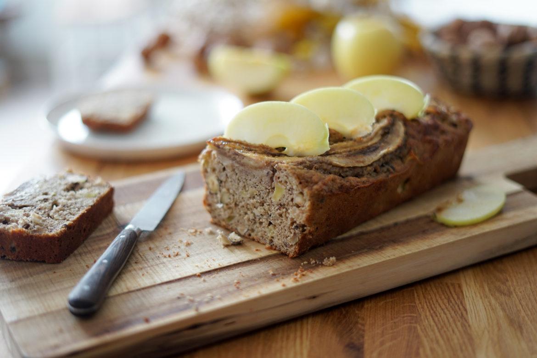 Recette Bread Cake Pomme Banane 9