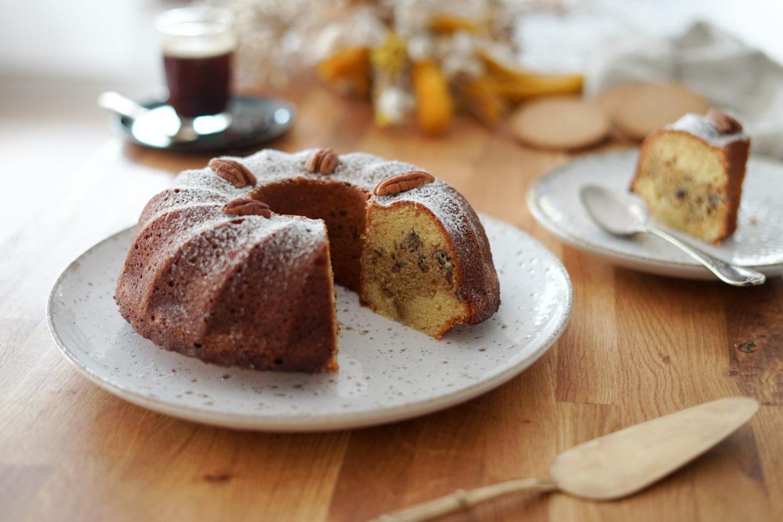 Recette Cake Pecan Cafe 14