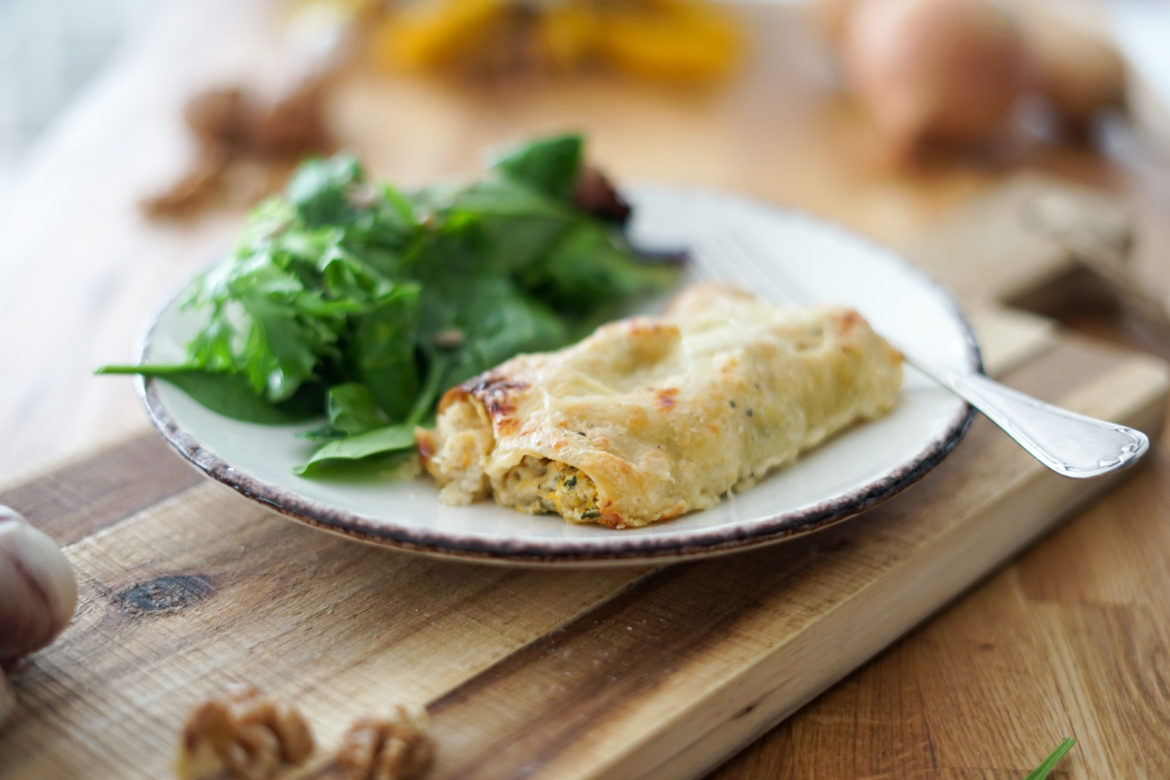 Recette Cannelonnis Courge Paysage 6