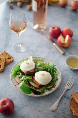 Recette Salade Chevre Chaud 4