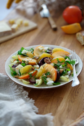 Recette Salade Kaki Betterave Orange 12