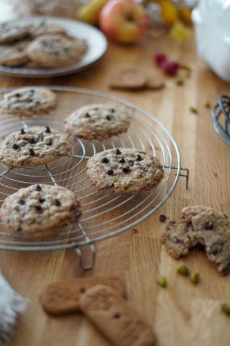 Recette Cookies Speculos Chocolat 9