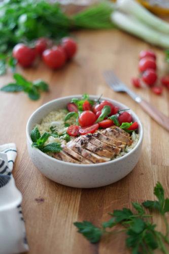 Recette Couscous Bowl Herbes 6