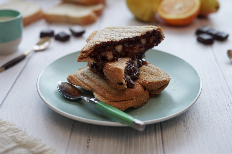 Recette Croque Monsieur Poire Creme Marron Chocolat 3