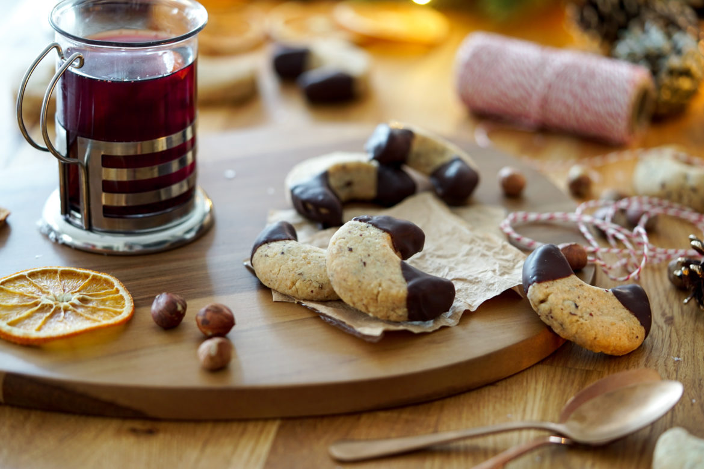 Recette Lunes Noisettes Chocolat