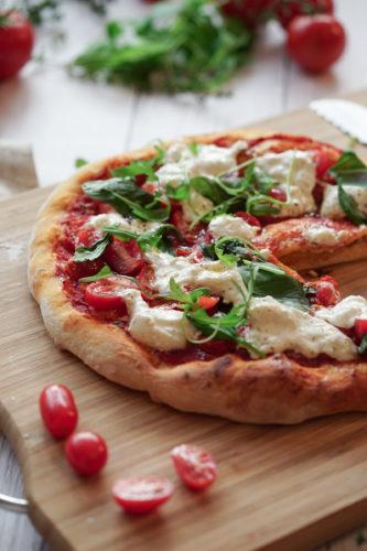 Recette Pizza Tomates Burrata 14