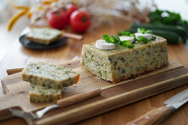Recette Cake Riz Courgettes Chevre 5