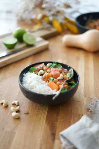 Recette Curry Courge Pois Chiches 5