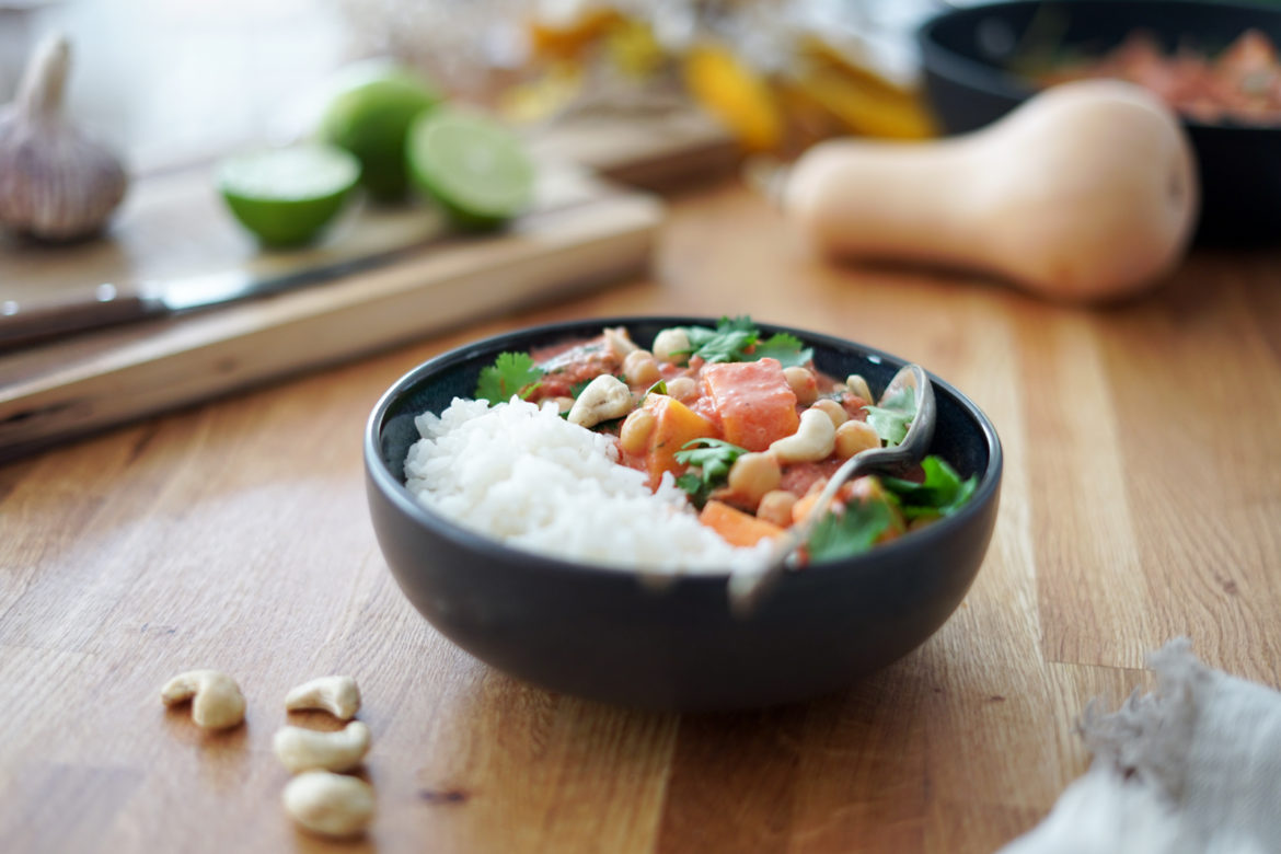 Recette Curry Courge Pois Chiches 9