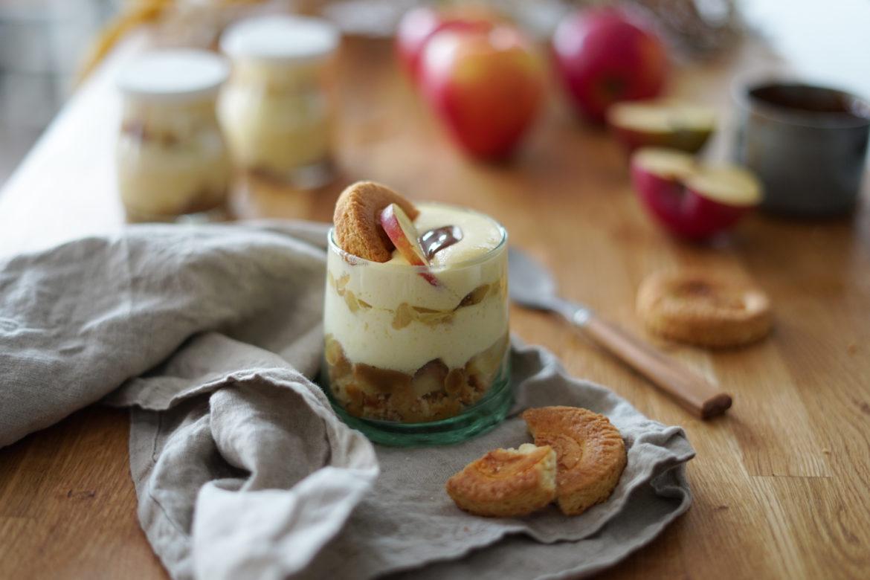 Recette Tiramisu Pommes Caramel