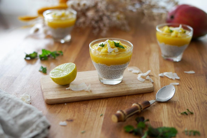 Recette Chia Pudding Coco Mangue 7