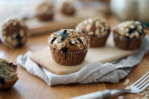Recette Muffins Avoine Myrtille 11