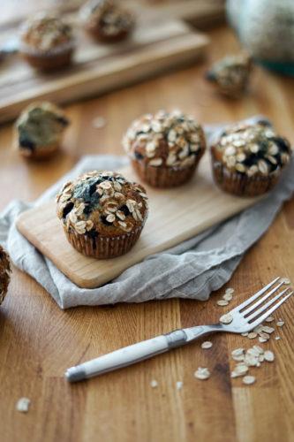 Recette Muffins Avoine Myrtille 16