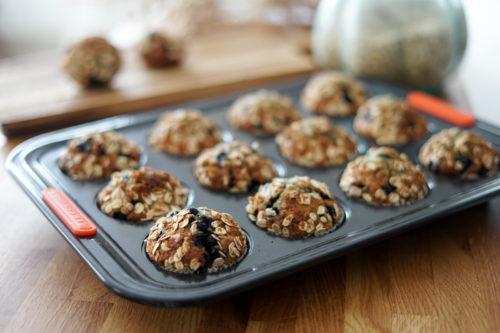 Recette Muffins Avoine Myrtille 3
