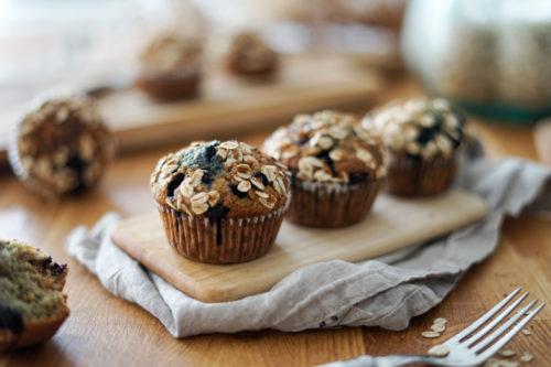 Recette Muffins Avoine Myrtille 8