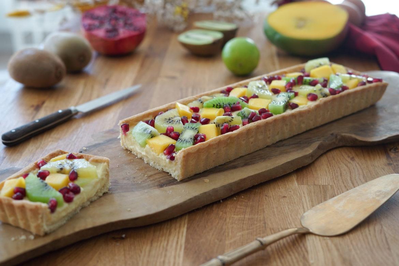 Recette Tarte Fruits Exotiques 2