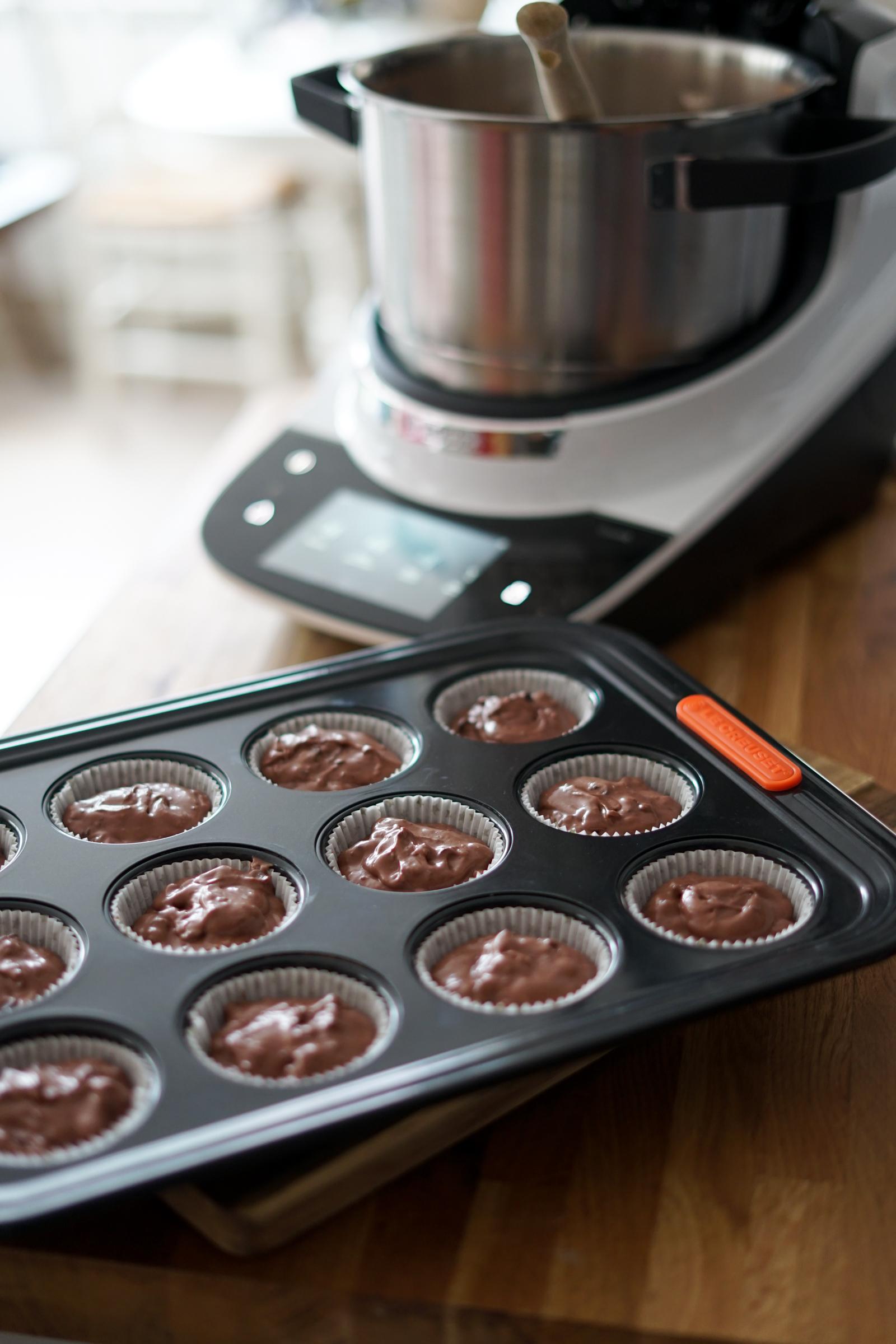 Recette Cupcake Chocolat Bosch Cookit 2