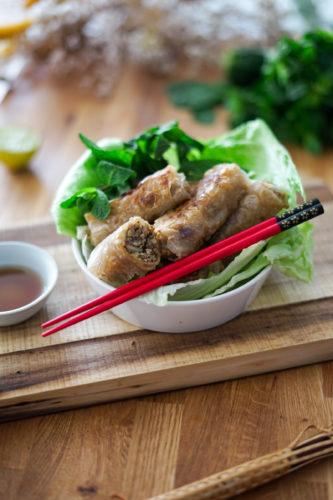Recette Nems Vegetariens Curry 11
