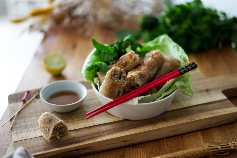 Recette Nems Vegetariens Curry 3