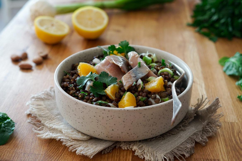 Recette Salade Lentilles 3