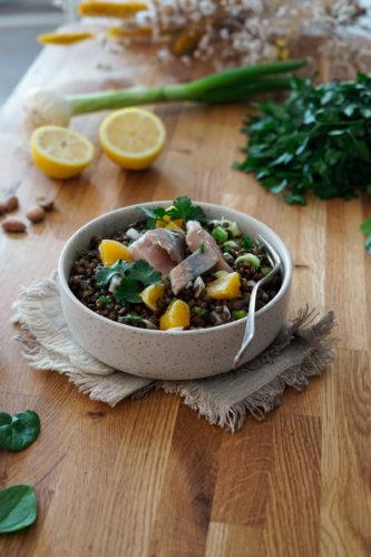 Recette Salade Lentilles 7