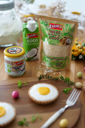 Recette Tartelettes Chocolat Coco Ayam Paques 12