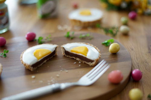 Recette Tartelettes Chocolat Coco Ayam Paques 20