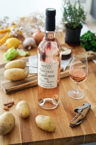 Recette Saumon Chipst Carrubier Rose Vin 8