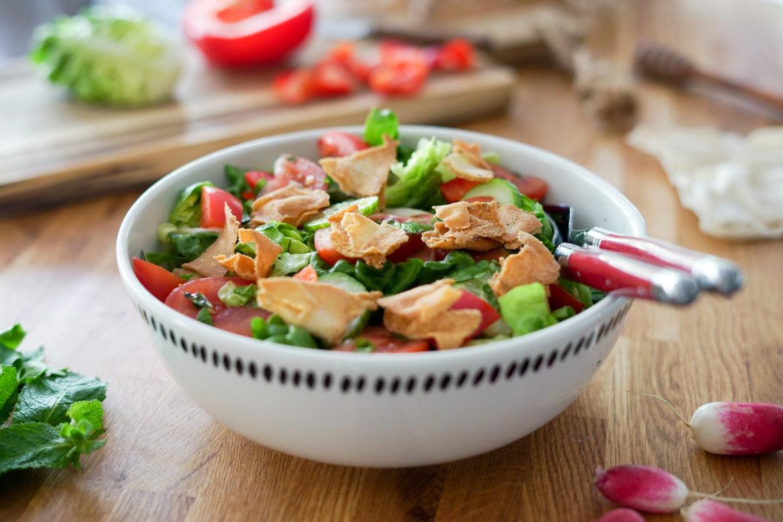 Recette Salade Fattouche 4