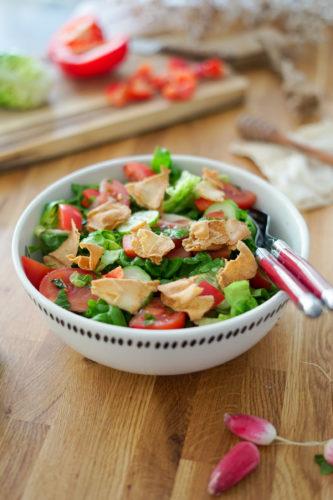 Recette Salade Fattouche 9