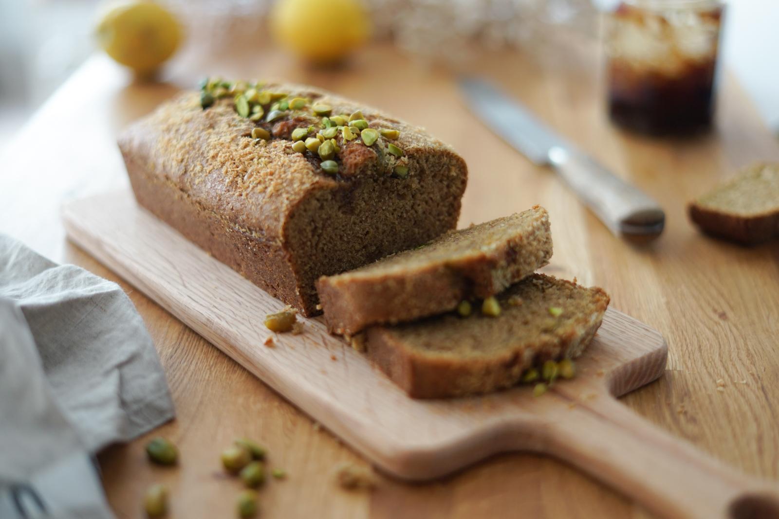 Cake à la pistache - Les Pépites de Noisette
